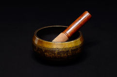 Tibetan bowl Royalty Free Stock Images