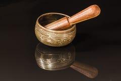 Tibetan bowl Royalty Free Stock Photos