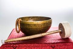 Tibetan bowl Royalty Free Stock Images