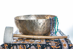 Tibetan bowl Royalty Free Stock Photo