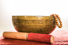 Tibetan bowl Stock Photos