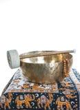 Tibetan bowl Stock Photography