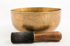 Tibetan bowl Stock Image
