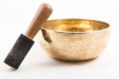 Tibetan bowl Royalty Free Stock Photography