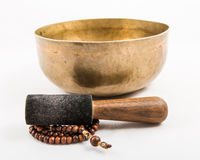 Tibetan bowl Stock Photography