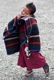 Tibetan boy Royalty Free Stock Image