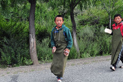 Tibetan Boy Stock Photography