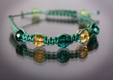 Tibetan Bracelet Shamballa royalty free stock image