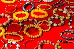 Tibetan bracelets Stock Image