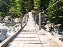 Tibetan bridge Royalty Free Stock Image
