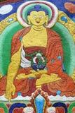 Tibetan Buddha painting Stock Photography