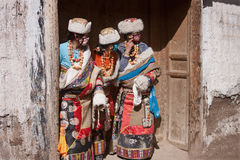 tibetan buddhism Arkivfoto