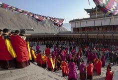 tibetan buddhism arkivbilder
