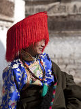 Tibetan Buddhism. Tibetan traditional festivals each year, to be held in Tibetan Buddhism, the Buddha grand sun, jump method dance, Tibetan opera performances Stock Images