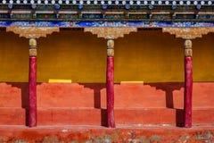 Tibetan Buddhism Architecture Royalty Free Stock Photo