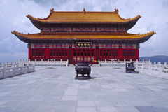 Tibetan Buddhism Hall Royalty Free Stock Image