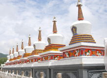 Tibetan Buddhism Stupa Stock Photos