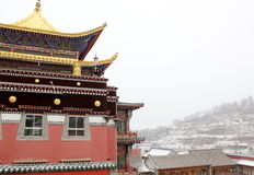 Tibetan Buddhism Temple Royalty Free Stock Photography