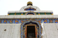 Tibetan Buddhism Temple Royalty Free Stock Photo