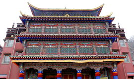 Tibetan Buddhism Temple Royalty Free Stock Photos