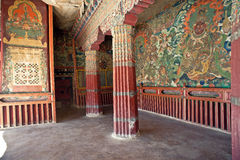 Tibetan Buddhism temples Royalty Free Stock Images