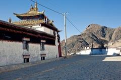 Tibetan Buddhism temples Stock Photos