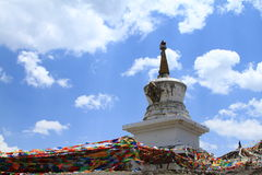 Tibetan buddhism tower Royalty Free Stock Photography