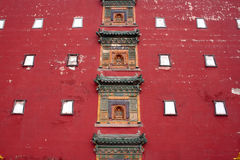 Tibetan Buddhist architecture Royalty Free Stock Photo
