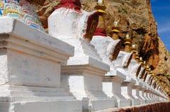 Tibetan Buddhist carving Royalty Free Stock Photos
