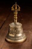 Tibetan buddhist ceremonial religious bell Royalty Free Stock Photo