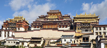 Tibetan Buddhist Monastery Royalty Free Stock Images