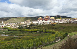 Tibetan Buddhist Monastery Royalty Free Stock Photo