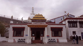 Tibetan Buddhist monastery Royalty Free Stock Photography