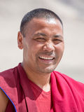 Tibetan Buddhist monk in Ladakh. India Stock Photo