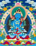 Tibetan buddhist painting Stock Image