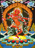 Tibetan buddhist painting Royalty Free Stock Images