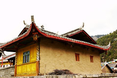 Tibetan buddhist temple Royalty Free Stock Photos