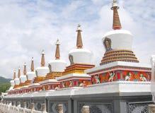 Tibetan buddism Stupa Arkivfoton