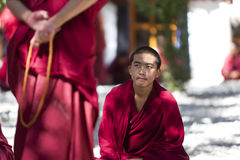 Tibetan Buddist monks Royalty Free Stock Photography