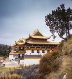 Tibetan buddistisk kloster i Kina Fotografering för Bildbyråer