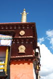 Tibetan building. In Lhasa, Tibet, China Stock Photos