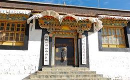 Tibetan building Royalty Free Stock Images