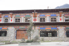 Tibetan building Stock Photo