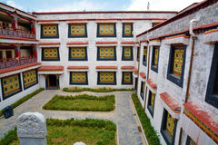 Tibetan building Stock Images