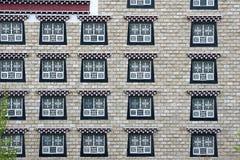 Tibetan building Stock Photos