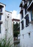 Tibetan buildings Royalty Free Stock Photo