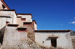 Tibetan buildings Stock Photography