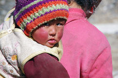 Tibetan Child Royalty Free Stock Photo