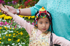 The Tibetan children Stock Images