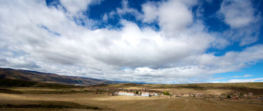 Tibetan Country Side Royalty Free Stock Photos